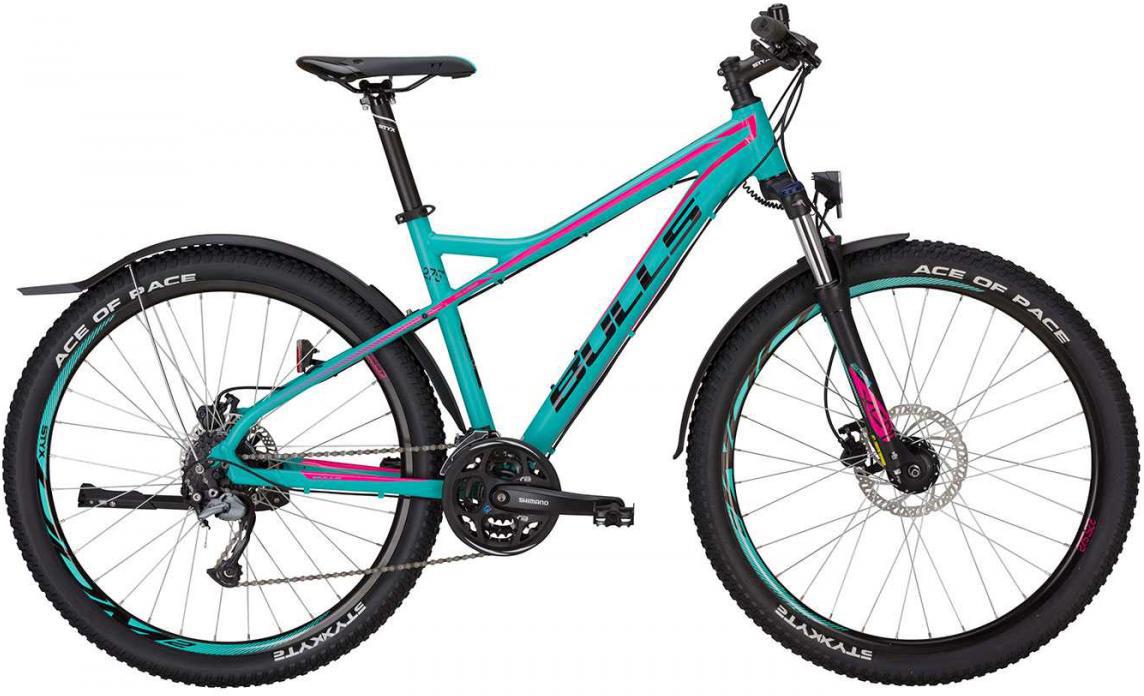 Велосипед горный Bulls Zarena Street 2017, цвет: голубой, рама 18, колесо 27,5271503