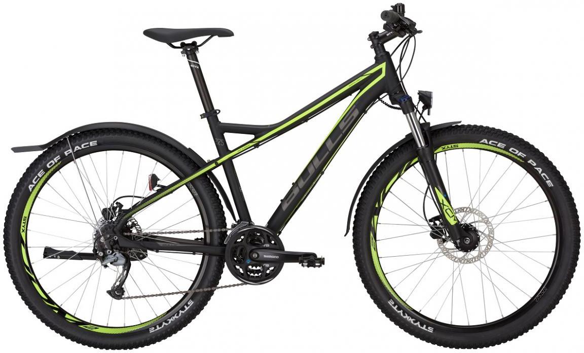Велосипед горный Bulls Sharptail Street 3 Disc 2017, цвет: зеленый, рама 18, колесо 27,5271514