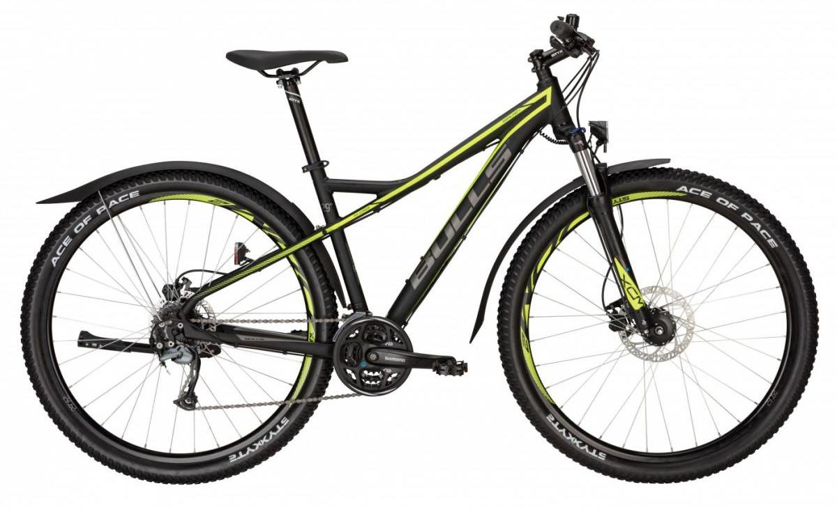 Велосипед горный Bulls Sharptail Street 3 Disc 2017, цвет: зеленый, рама 22, колесо 29271528