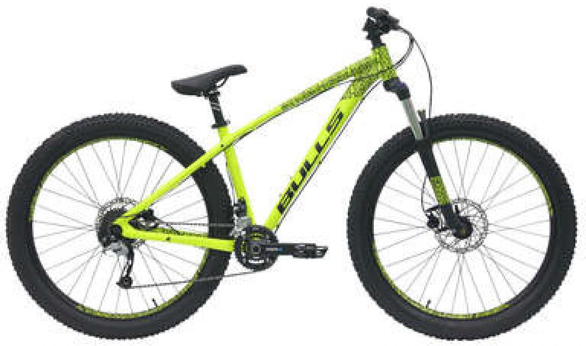 Велосипед горный Bulls Devilzone 2017, цвет: зеленый, рама 16, колесо 27,5271530