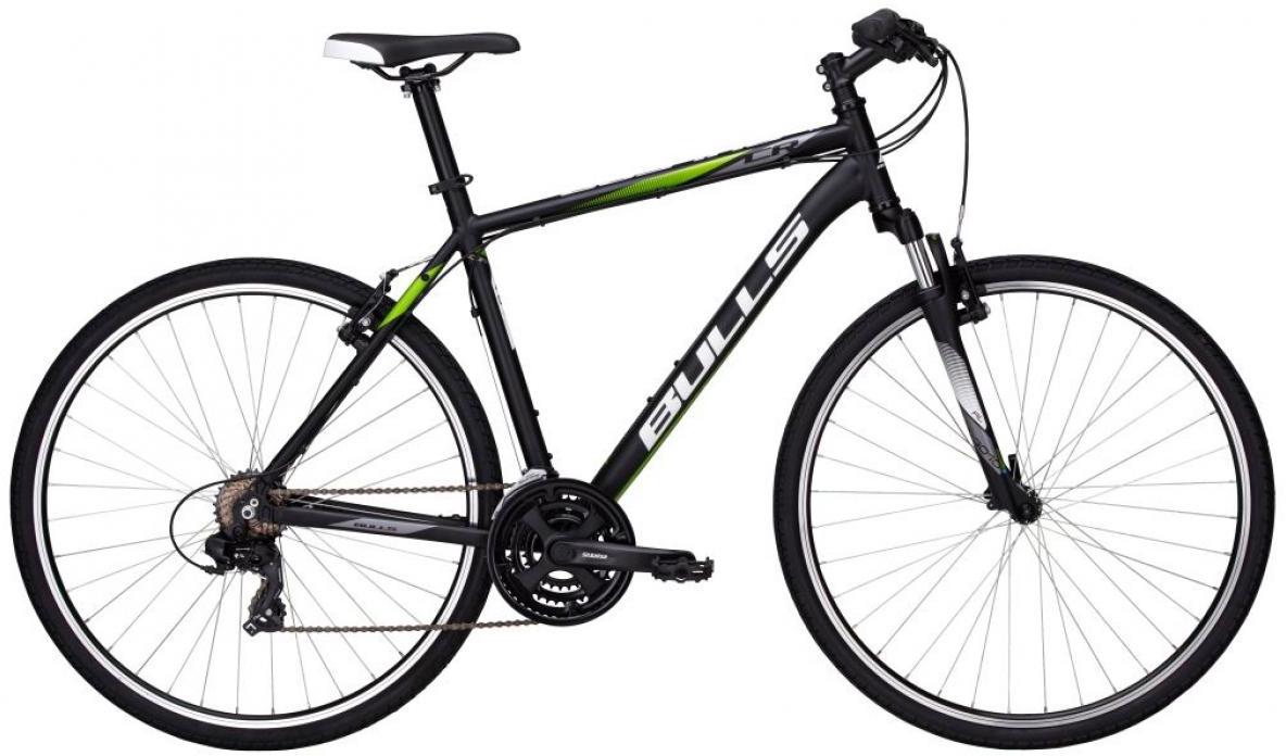 Велосипед городской Bulls Pulsar Cross Gent 2017, цвет: черный, рама 17,5, колесо 28271534
