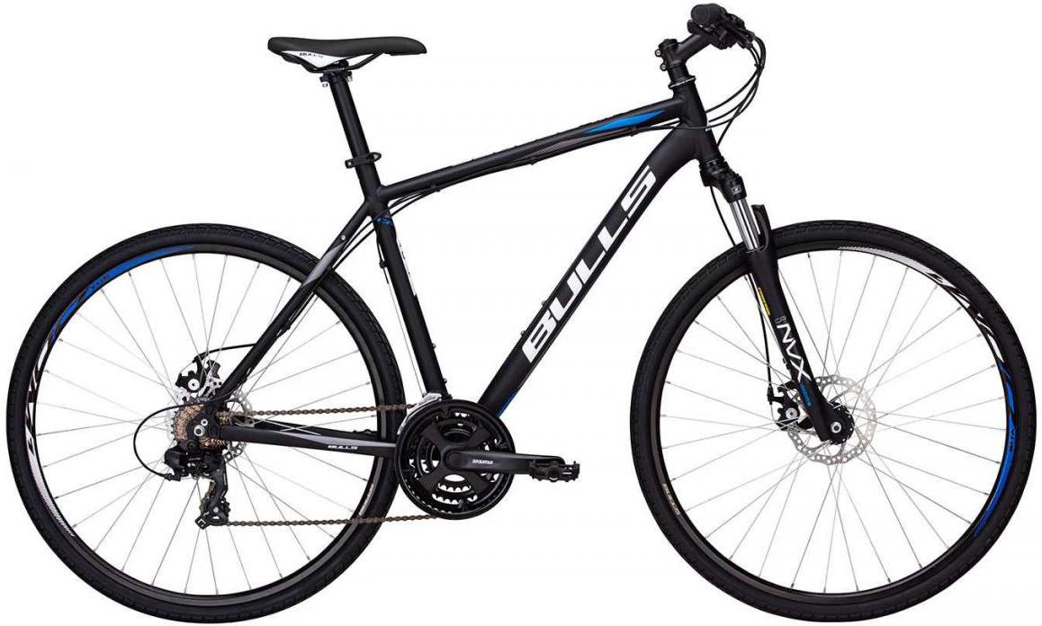 Велосипед городской Bulls Wildcross Gent 2017, цвет: черный, рама 19, колесо 28271546