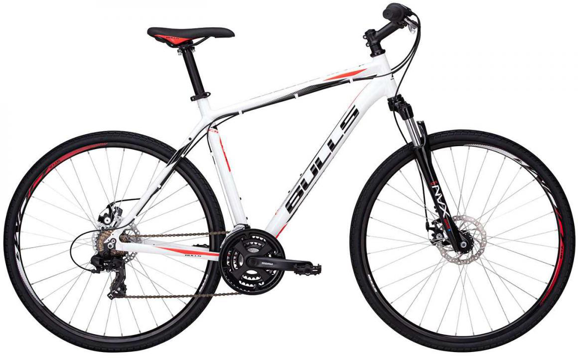 Велосипед городской Bulls Wildcross Gent 2017, цвет: белый, рама 19, колесо 28271551
