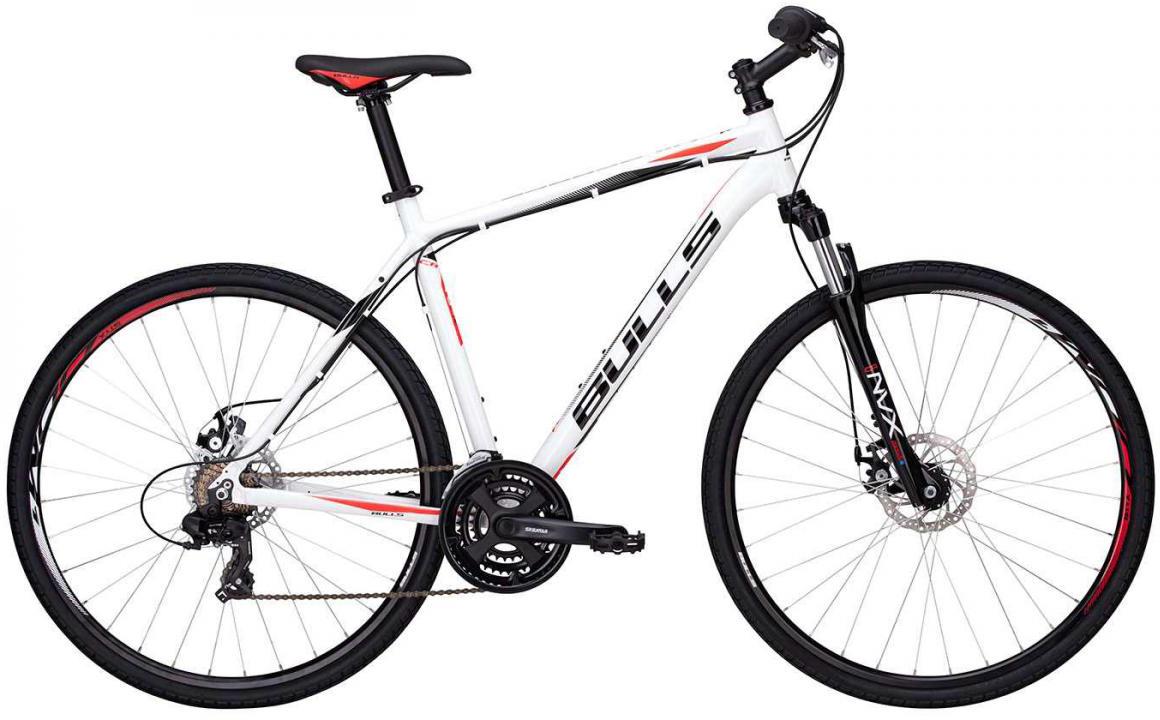 Велосипед городской Bulls Wildcross Gent 2017, цвет: белый, рама 24, колесо 28271554
