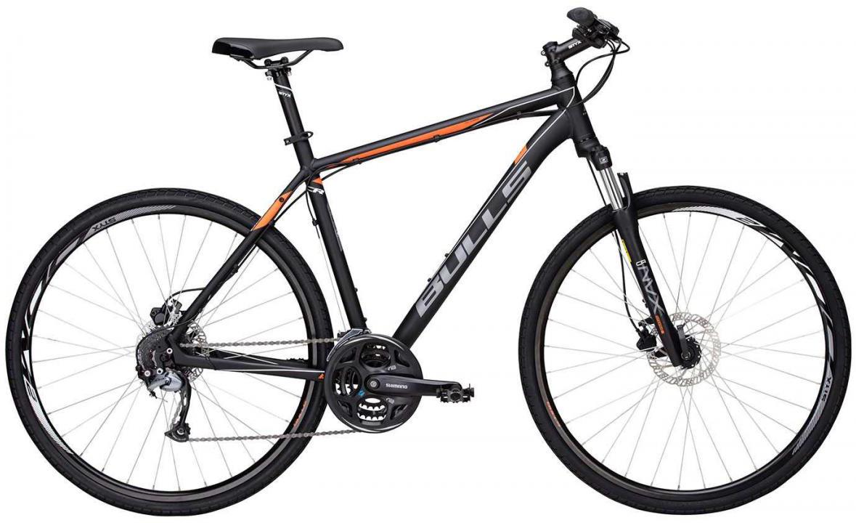 Велосипед городской Bulls Cross Bike 1 Gent 2017, цвет: черный, рама 24, колесо 28271568
