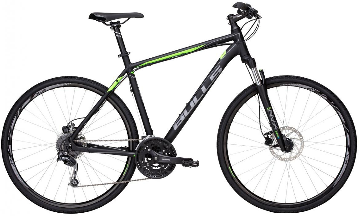 Велосипед городской Bulls Cross Bike 2 Gent 2017, цвет: черный, рама 17,5, колесо 28271583
