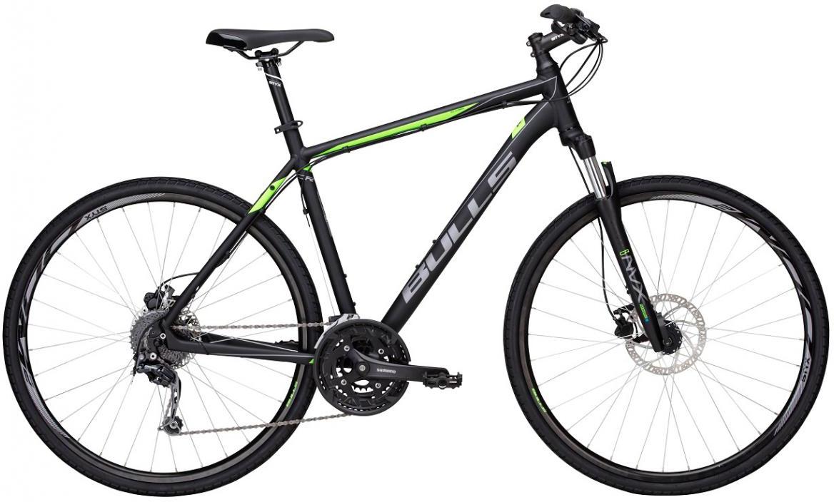 Велосипед городской Bulls Cross Bike 2 Gent 2017, цвет: черный, рама 24, колесо 28271587