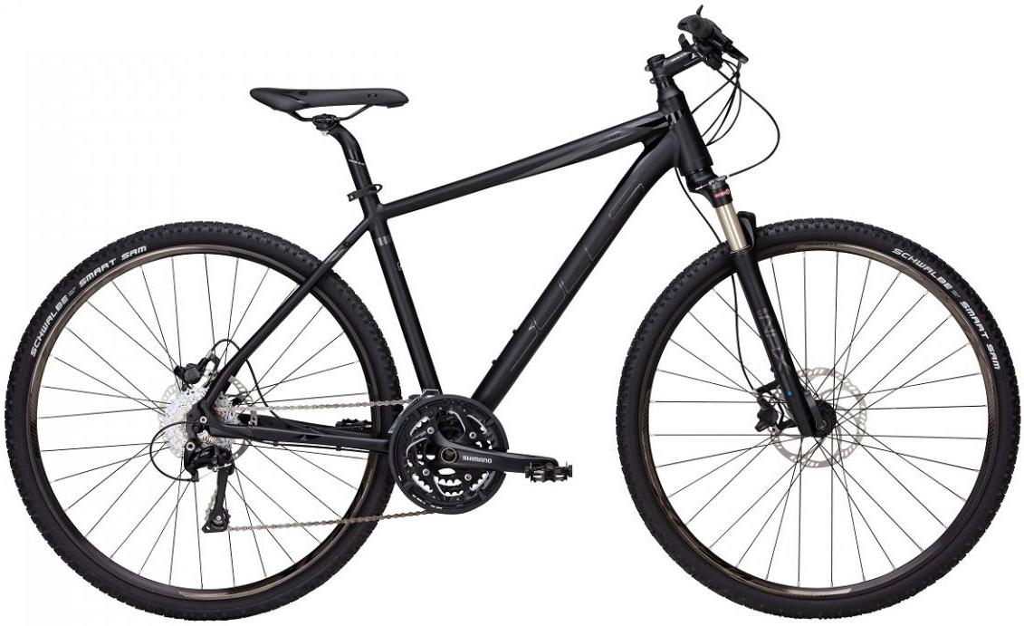 Велосипед городской Bulls Cross Mover 2 Gent 2017, цвет: черный, рама 24, колесо 28271629