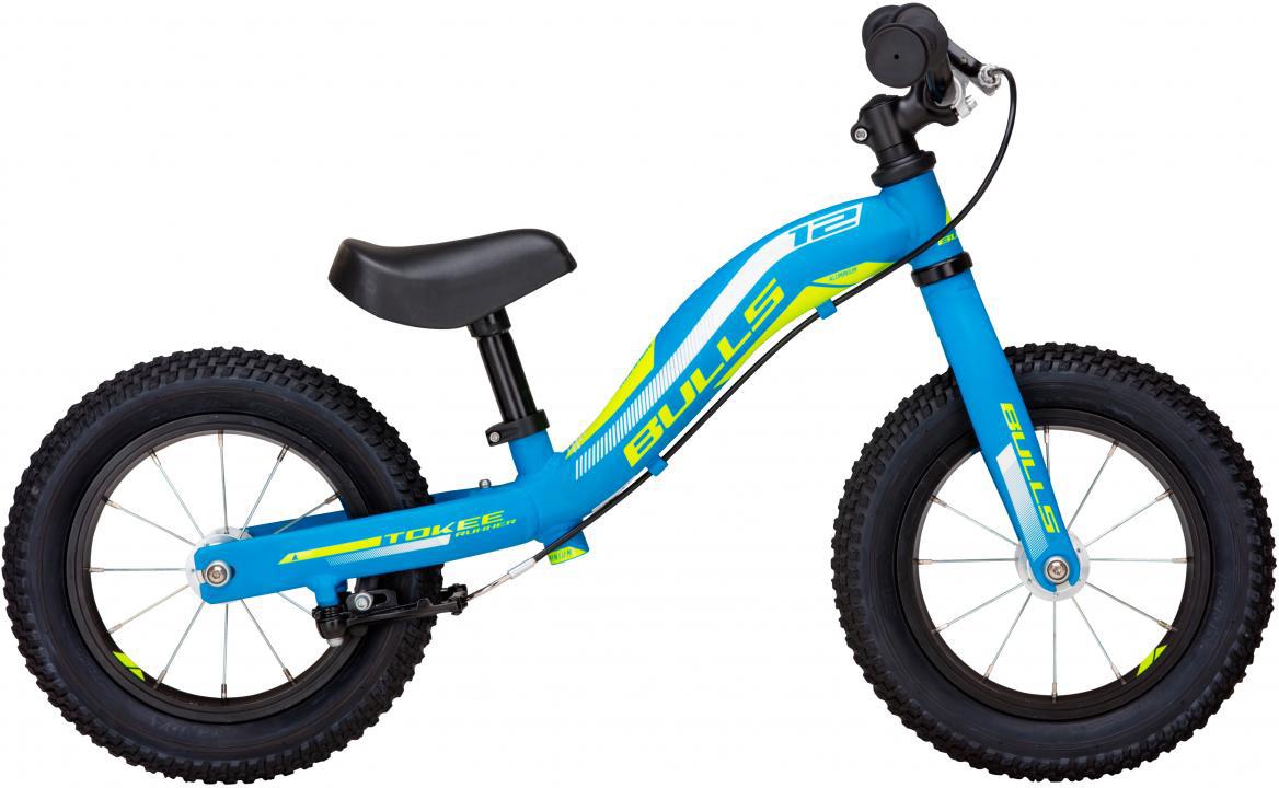 Велосипед детский Bulls Tokee Runner Boy 2017, цвет: синий, колесо 12271664
