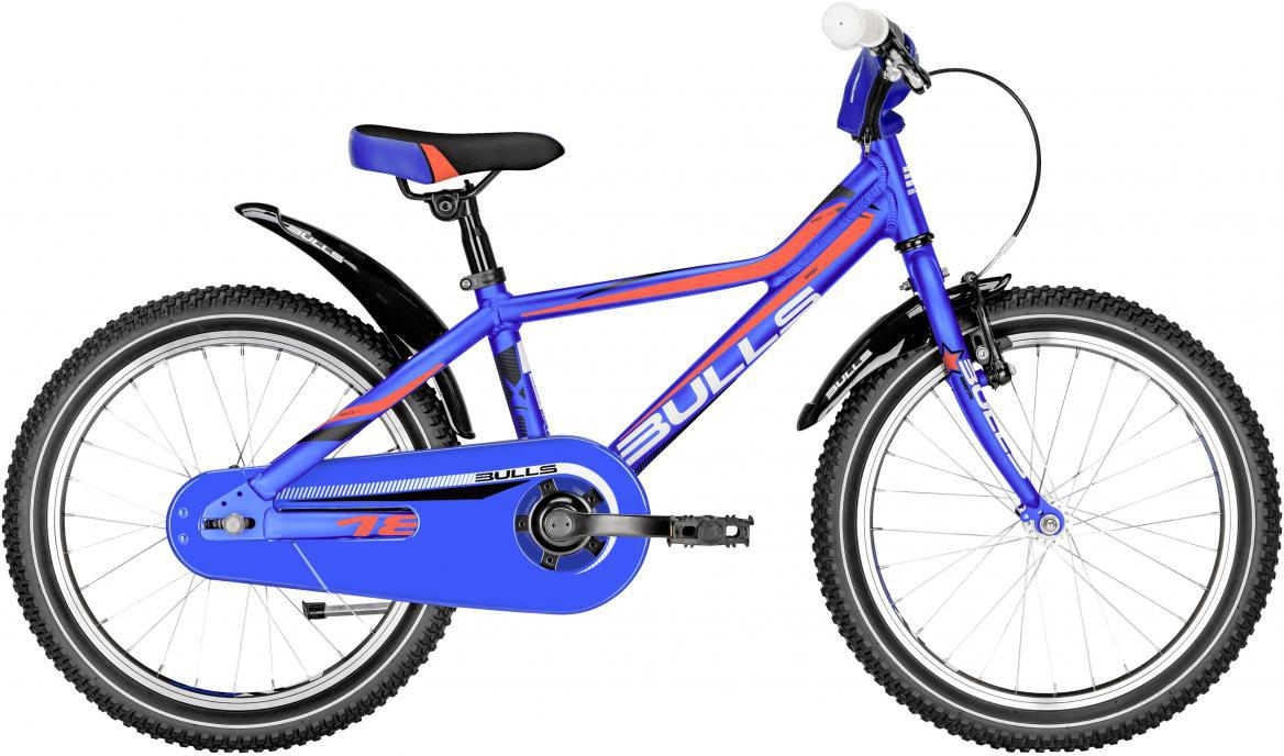 Велосипед детский Bulls Tokee Lite 2017, цвет: синий, колесо 18271688