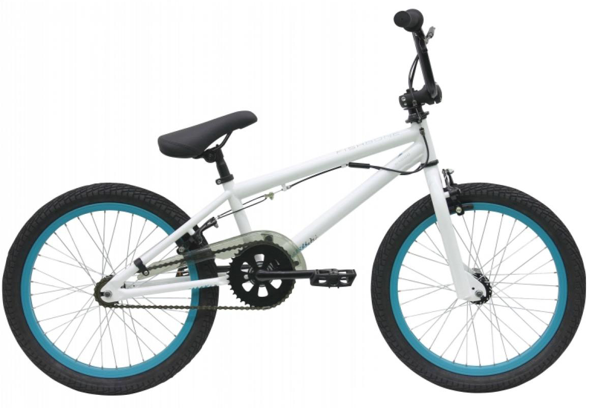 Велосипед детский Bulls Fishbone P1000 2017, цвет: белый, колесо 20271858