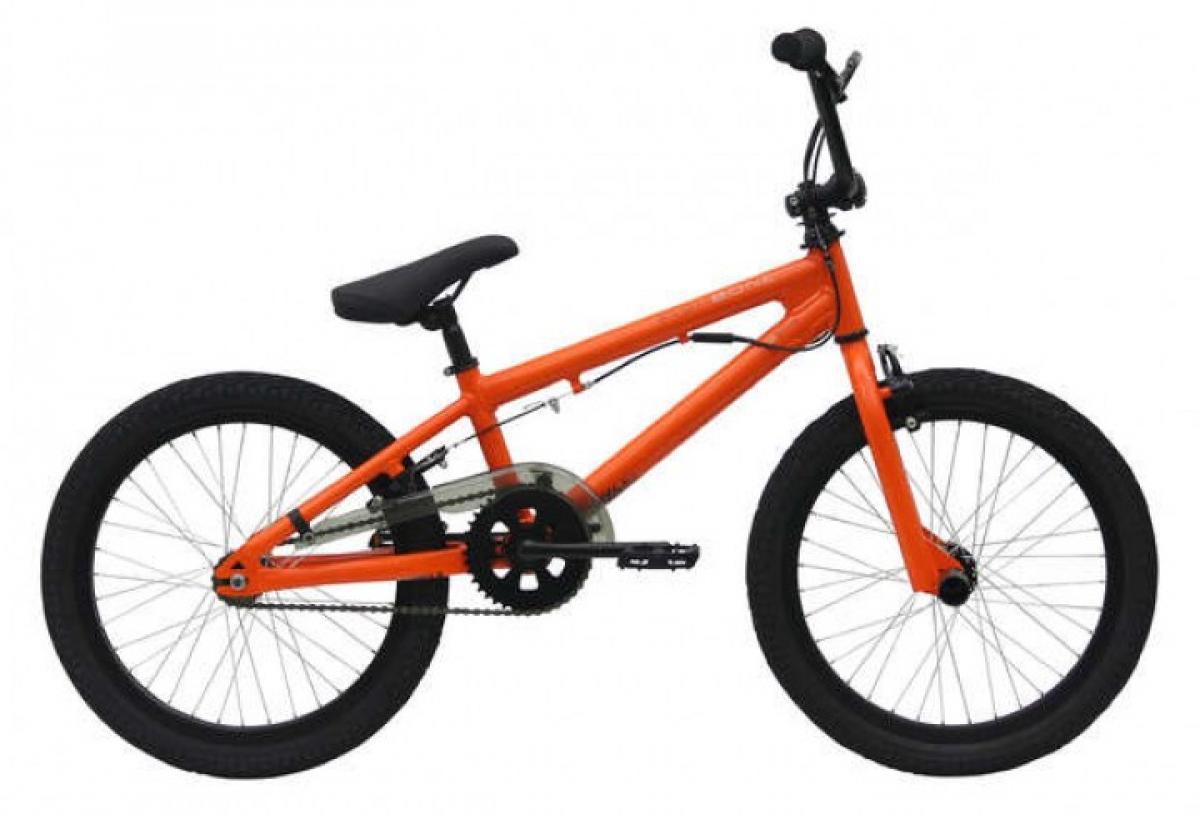 Велосипед детский Bulls Fishbone P2000 2017, цвет: оранжевый, колесо 20271860
