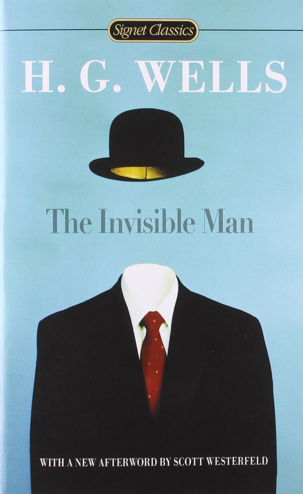 Invisible Man, The wells h the time machine the invisible man