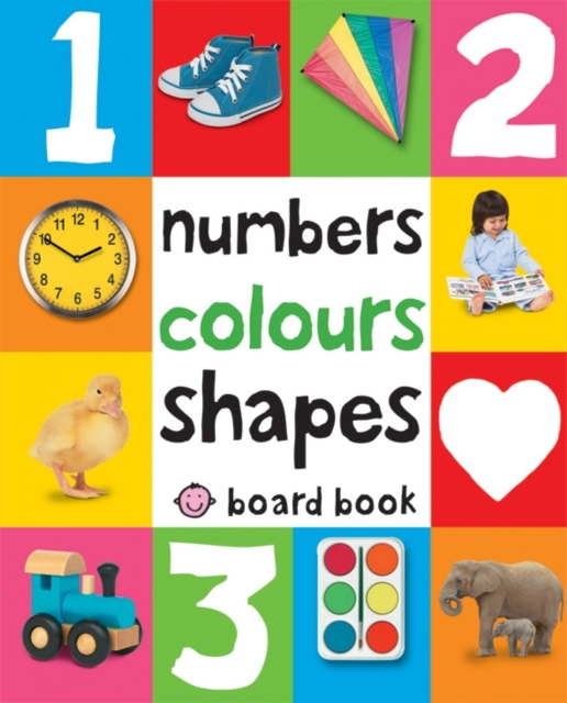 Numbers, Colours, Shapes (soft to touch board book) greenwell j first numbers sticker book