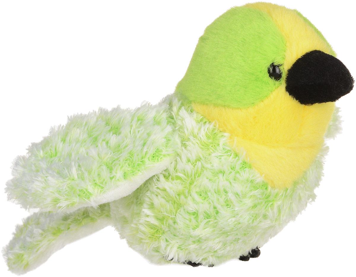 Lilkinz Мягкая игрушка Волнистый попугайчик 12 см