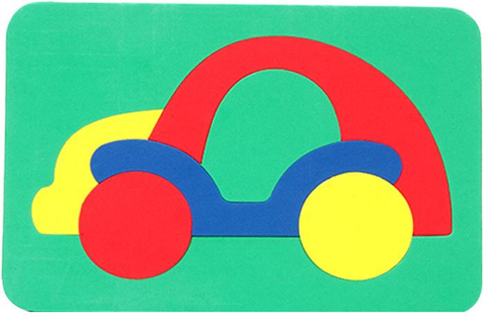 Бомик Пазл для малышей Машинка бомик пазл для малышей цифры цвет основы красный