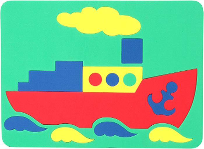Картинки для детей пароход аппликация