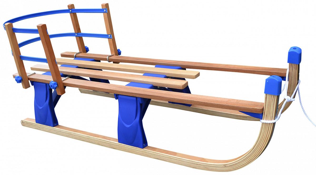 Small Rider Санки складные деревянные Fold Compact цвет синий1373663Small Rider Fold Compact - это невероятно компактные и удобные деревянные складные санки со съемной спинкой.Простое и быстрое сложение Для того, чтобы сложить санки требуется всего 3 секунды! В нижней задней части санок есть металлический язычок, и если вы потяните его вниз и сожмете санки слегка с боков, то они быстро и четко сложатся до щелчка.Невероятно компактный размер В сложенном виде санки фантастически компактны. Они превращаются практически в плоскую доску, которую очень удобно нести прижав подмышкой. Также в таком виде санки удобно хранить! Вы можете повесить их на крючок или убрать в шкаф. Никаких проблем!Максимум комфорта - съемная спинка Но это еще не все - на санки с помощью крючков с барашком надевается гибкая спинка в случае необходимости. На ее сборку-разборку уйдет также всего пару минут. Для катания в мороз или если вы захотите, чтобы малышу было мягче сидеть, вы также можете дополнительно приобрести вкладыш-подстилку, которая закроет спинку и часть сиденья.Устойчивость и надежность Продуманный механизм с пластиковыми опорами-фиксаторами и жесткими пружинами делает данные санки максимально надежными, и вы можете быть абсолютно уверены, что они не сложатся при спуске. Пружины достаточно мощные и запирание механизма происходит до щелчка, так что вы можете быть уверены в их надежности, и просто наслаждайтесь катанием.Легкость и скольжение. Санки Фолд Компакт имеют классическое строение и вид детских санок, с мысами загнутыми вверх - как у самых первых санок, появившихся в России. Они легкие и маневренные. Снизу рамы вмонтированы алюминиевые полозья, которые позволят санкам хорошо скользить по снегу.