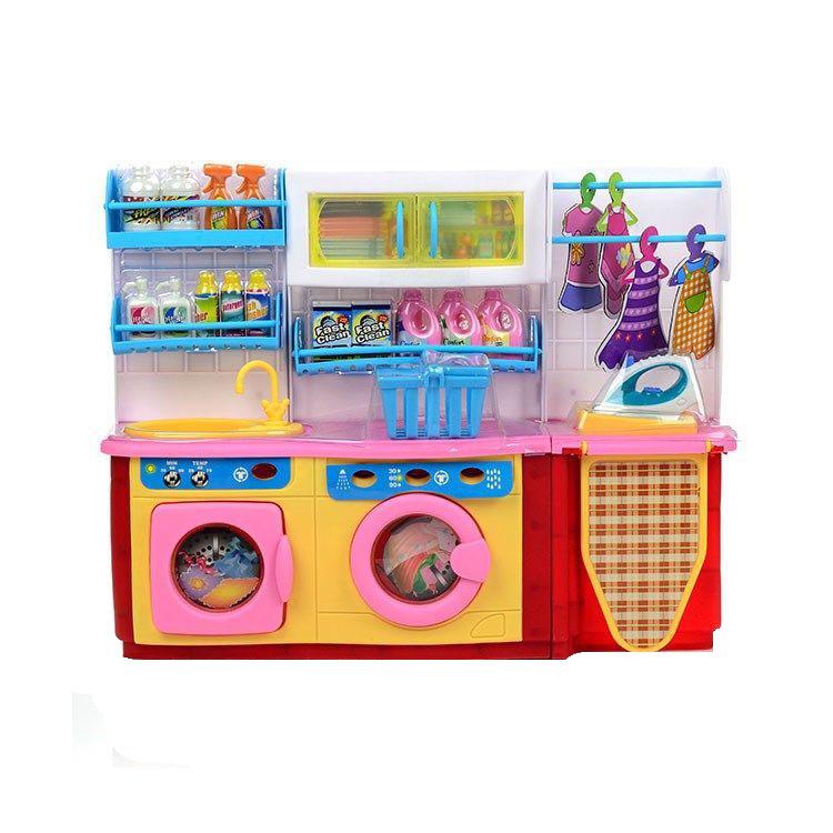 DollyToy Мебель для кукол Мини-кухня Прачечная - Куклы и аксессуары