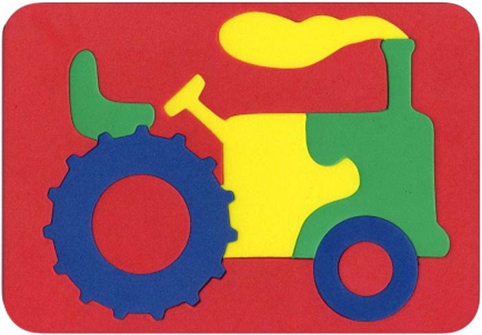 Бомик Пазл для малышей Трактор пазлы бомик мозаика локомотив