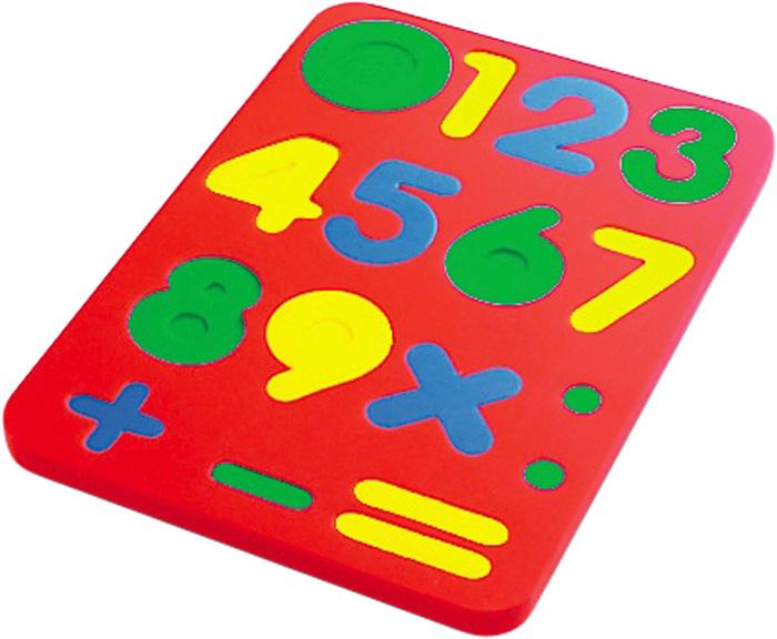 Бомик Пазл для малышей Цифры бомик пазл для малышей цифры цвет основы желтый