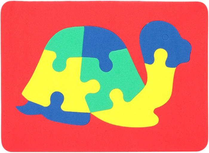 Бомик Пазл для малышей Черепаха бомик пазл для малышей коврик мозаика