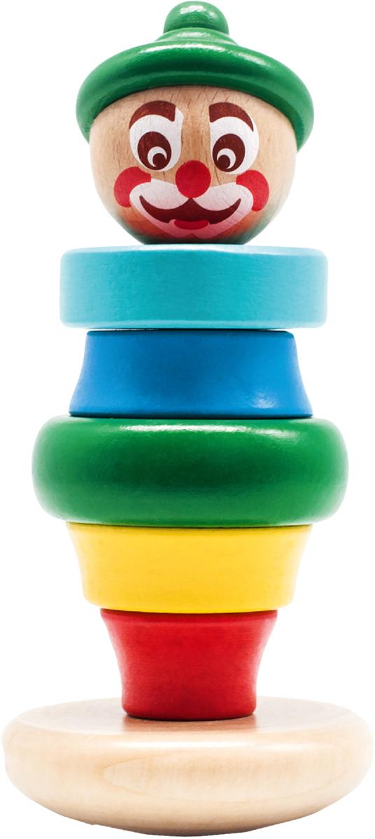 Бомик Пирамидка Клоун цвет колпака зеленый ирина шведова клоун и все остальные