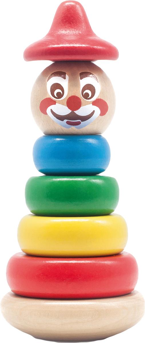 Бомик Пирамидка Клоун цвет колпака красный ирина шведова клоун и все остальные