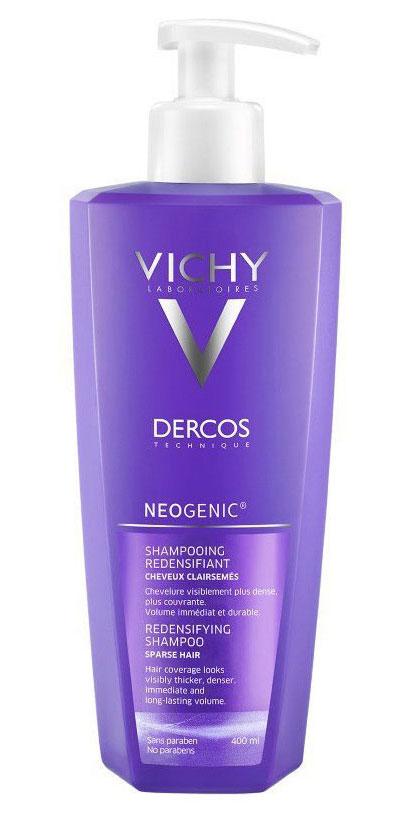 VICHY Neogenic Шампунь для повышения густоты волос 400мл шампунь для повышения густоты волос отзывы виши