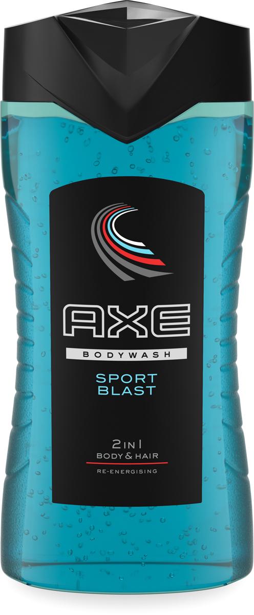 Axe Гель для душа и шампунь 2в1 Sport Blast 250 мл