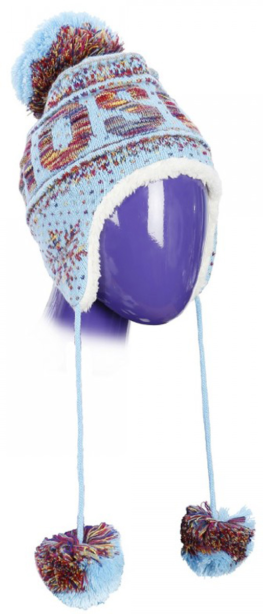 Шапка детская Robin Ruth Moscow, цвет: голубой. KMOSK001-A. Размер универсальный