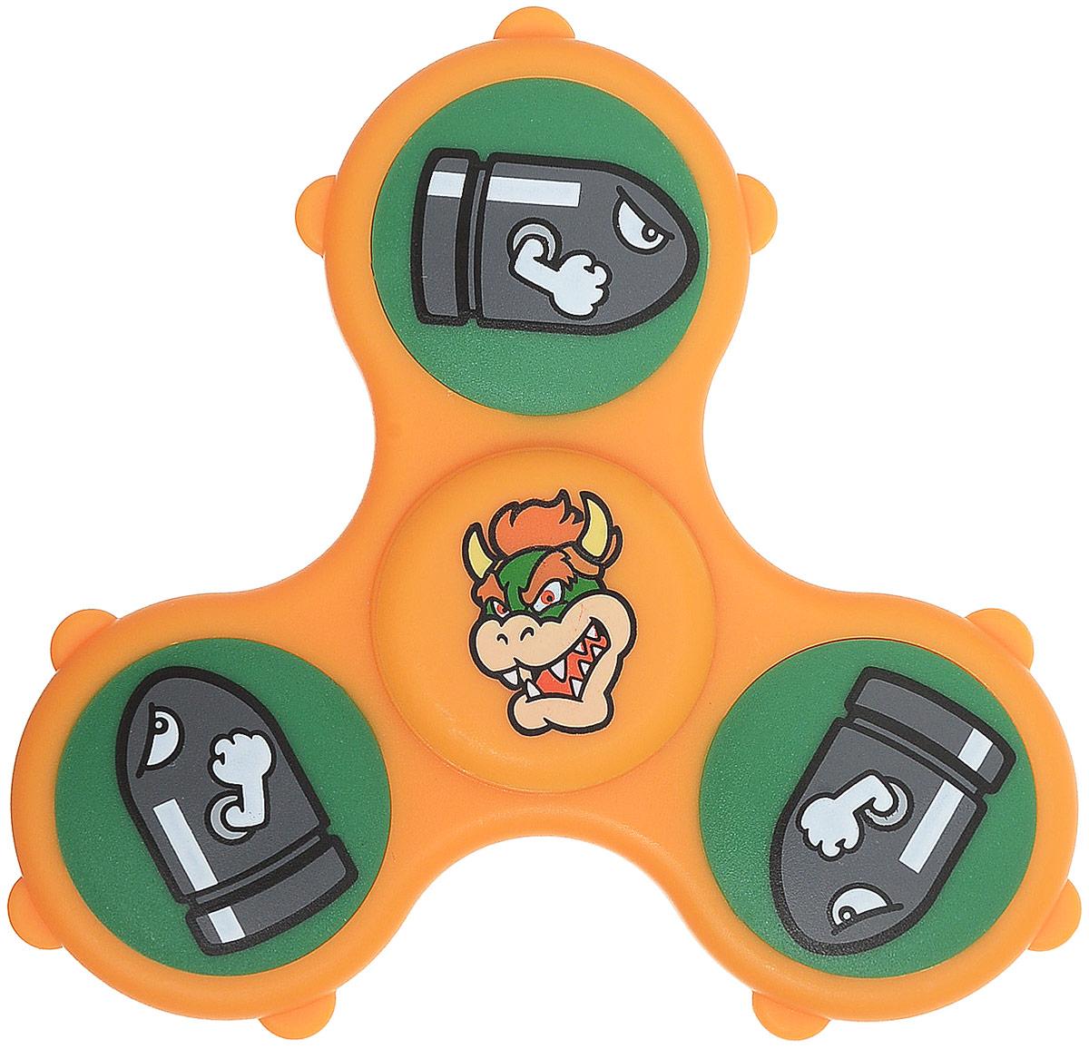 Fidget Its Спиннер Nintendo Bowser игрушка антистресс fidget cube blue