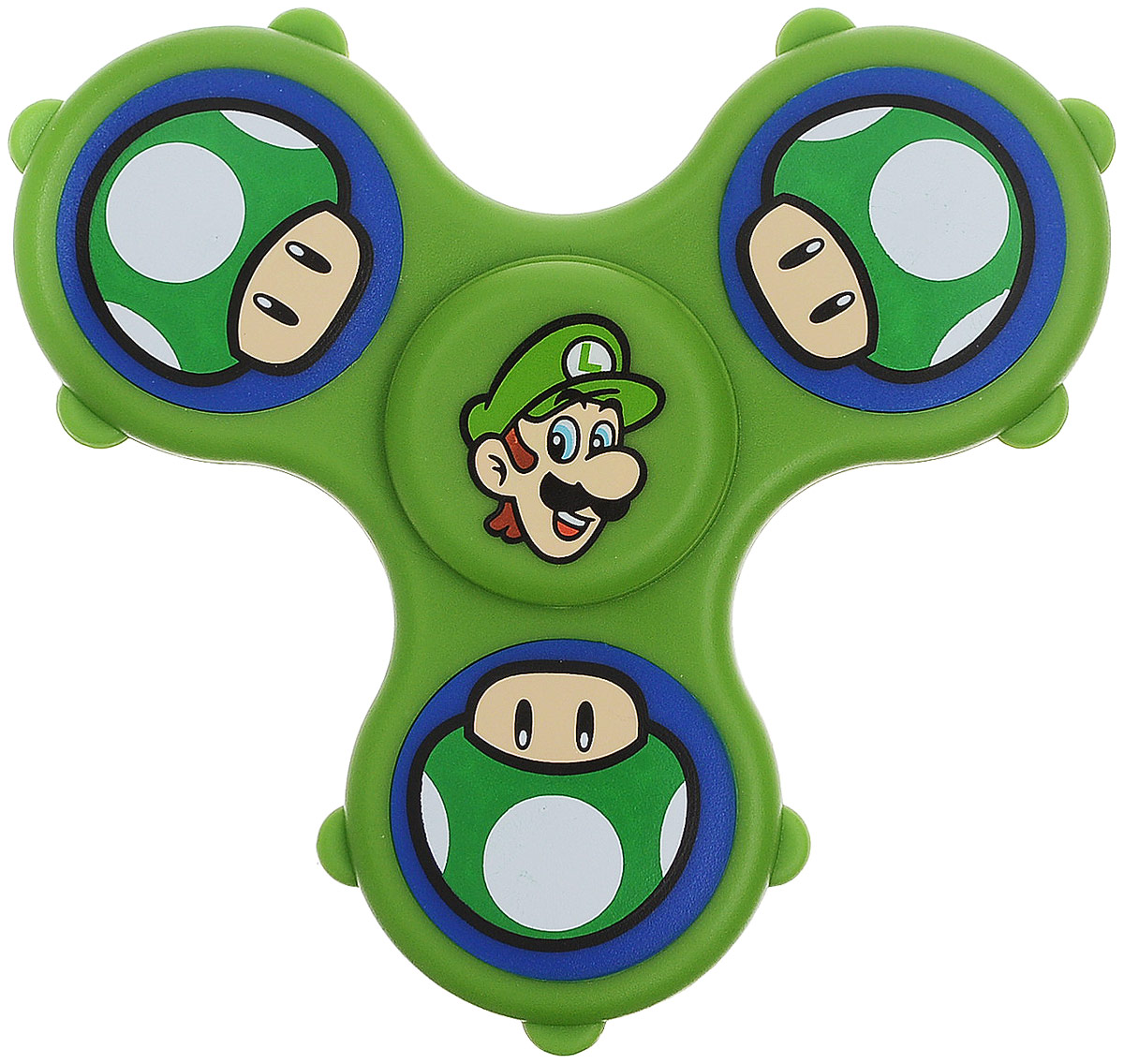 Fidget Its Спиннер Nintendo Luigi игрушка антистресс fidget cube blue