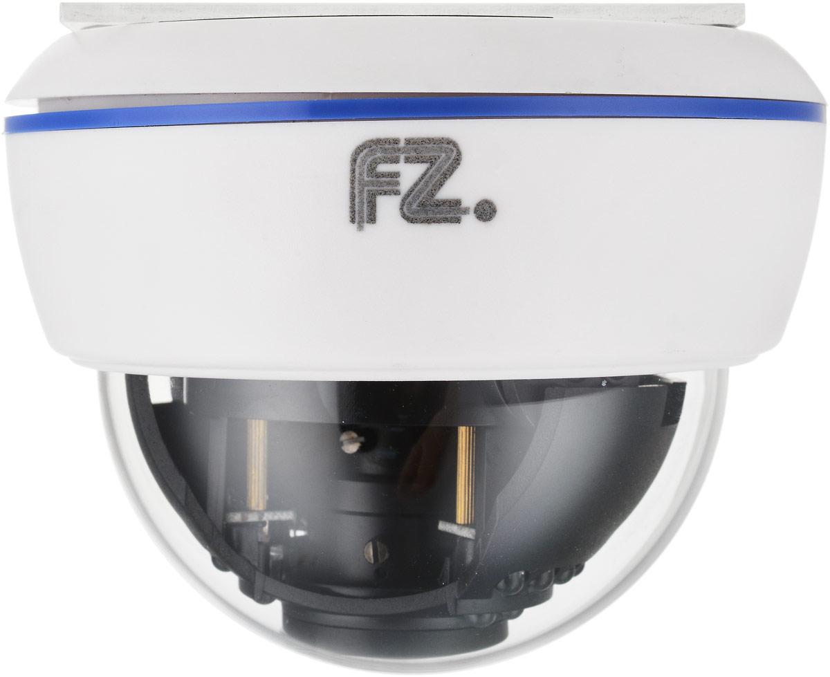 Fazera FZ-DVIRP30-720(W) камера видеонаблюденияFZ-DVIRP30-720(W)Внутренняя видеокамера Fazera FZ-DVIRP30-720(W) обеспечит безопасность любого офиса, идущего в ногу со временем.IP камеры видеонаблюдения, такие как модель Fazera FZ-DVIRP30-720(W), отличаются простотой выполнения монтажа видеонаблюдения, в отличии от AHD системы слежения.Высокое разрешение матрицы, позволяет в деталях рассмотреть правонарушителя в той или иной ситуации.В основе камеры матрица 1/4 CMOS OmniVision OV9712 и процессор HiSilicon HI3518E благодаря чему IP-камера Fazera FZ-DVIRP30-720(W) формирует изображение с разрешением до 1280x720 пикселей, с качественной цветопередачей и повышенной контрастностью, что позволяет использовать видеокамеру на объектах с высокими требованиями к качеству видеосигнала, и в системах с видеоаналитикой.Матрица: 1/4 CMOS OmniVision OV9712 Процессор: HiSilicon HI3518E Механический ИК-фильтр с автопереключением Настройки яркости, контраста, насыщенности через клиентское ПО или веб браузер Как выбрать камеру видеонаблюдения для дома. Статья OZON Гид