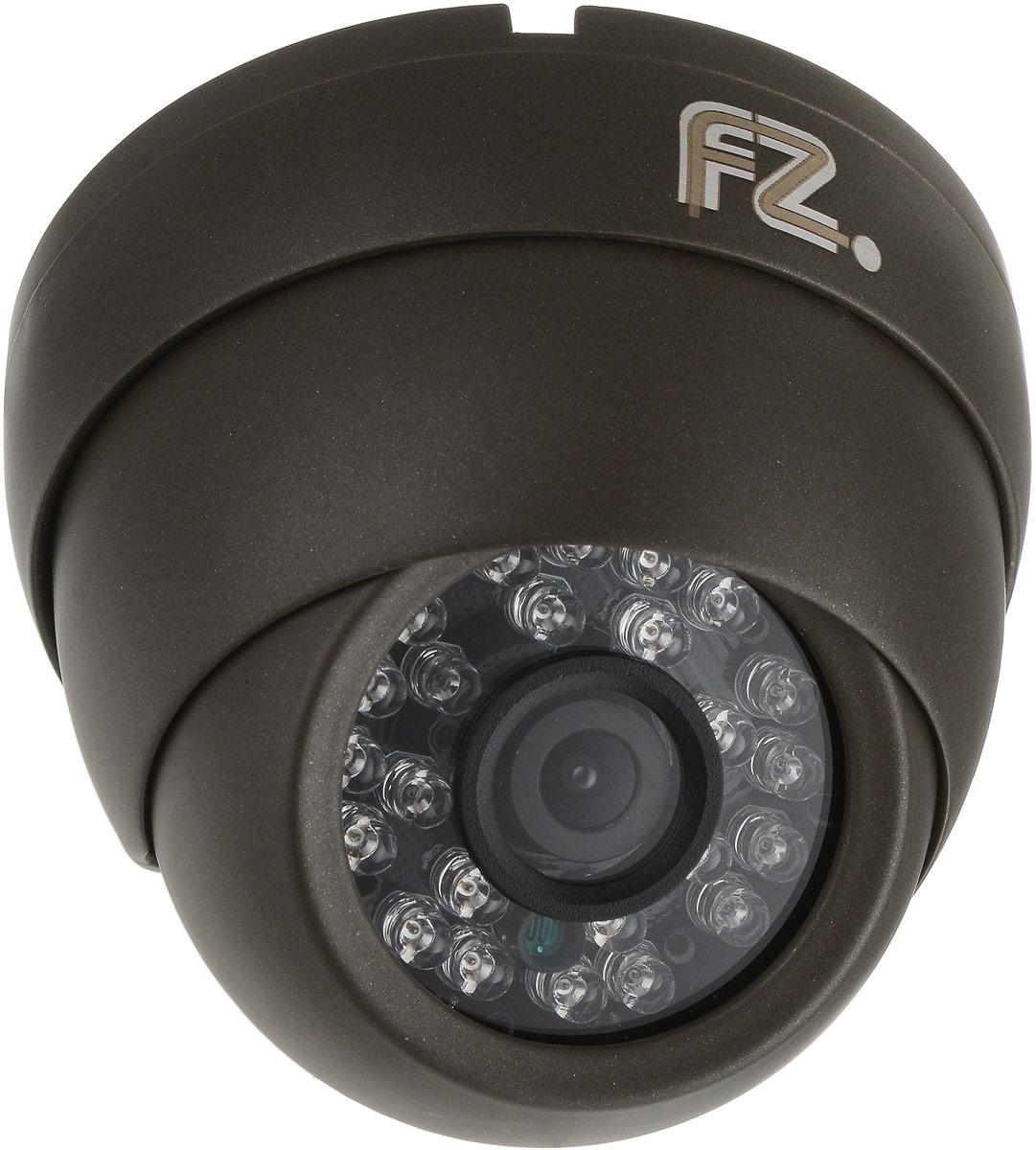 Fazera FZ-DIR24-1080, Grey камера видеонаблюденияFZ-DIR24-1080Уличная IP камера Fazera FZ-DIR24-1080 благодаря наличию инфракрасной подсветки дальностью 20 метров, и надежной защитой от атмосферных воздействий в широком диапазоне температур, камера zIPCam-DIR24 может эксплуатироваться на таких объектах, как уличные паркинги, складские помещения, отели, жилые дома и т.д.В основе камеры матрица: 1/2.8 Sony Exmor IMX222 и процессор: HiSilicon HI3516C благодаря чему уличная IP-камера zIPCam-DIR24 формирует изображение с разрешением до 1920x1080 пикселей (Full HD), с качественной цветопередачей и повышенной контрастностью, что позволяет использовать видеокамеру на объектах с высокими требованиями к качеству видеосигнала, и в системах с видеоаналитикой. Электропитание камеры возможно как от источника постоянного тока 12 В, так и по IP-сети (PoE).Матрица: 1/2.8 Sony Exmor IMX222Процессор: HiSilicon HI3516CМеханический ИК-фильтр с автопереключениемНастройки яркости, контраста, насыщенности через клиентское ПО или веб браузер
