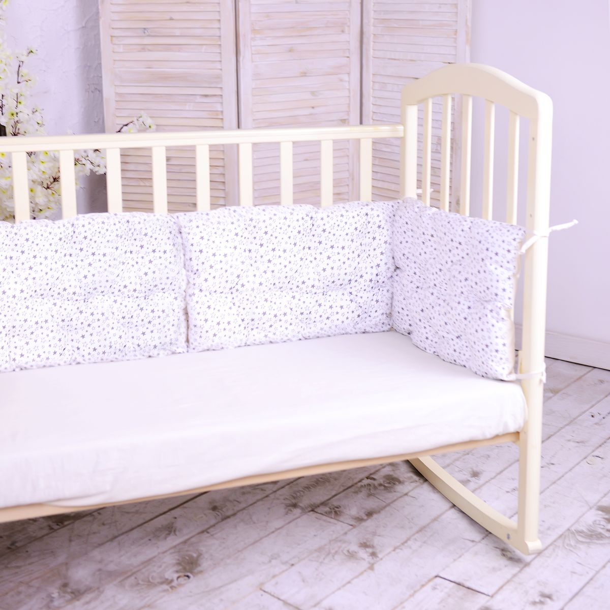HoneyMammy Бортики-подушки в кроватку Universe