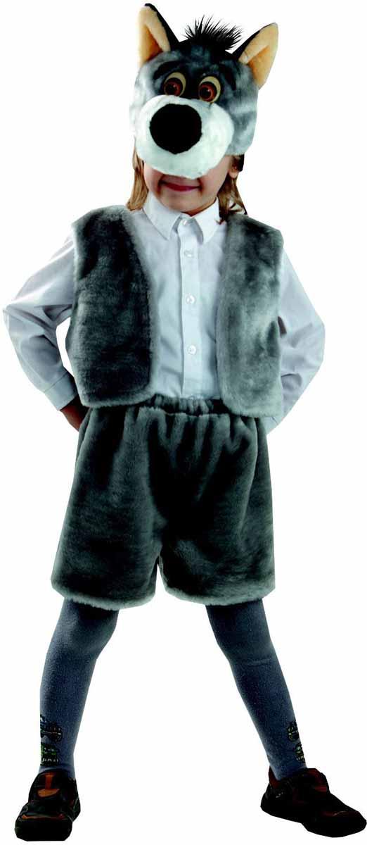 Батик Костюм карнавальный Волк размер 28