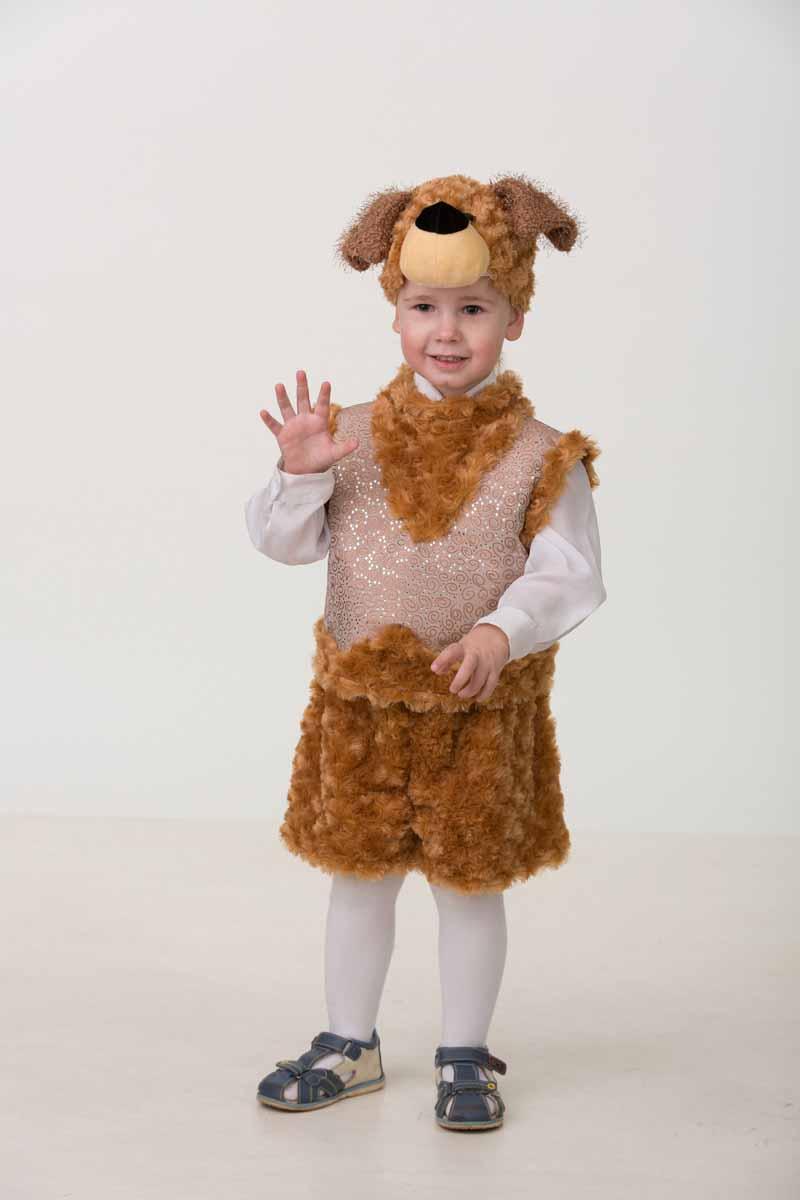 Батик Карнавальный костюм для мальчика Собачка Билли размер 26-28 батик карнавальный костюм капитан флинт