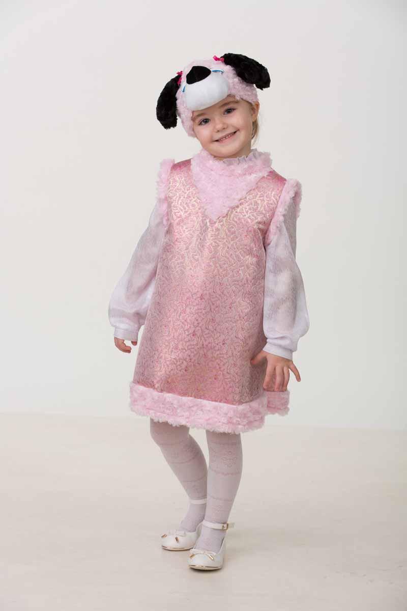 Батик Карнавальный костюм для девочки Собачка Лори размер 26 28