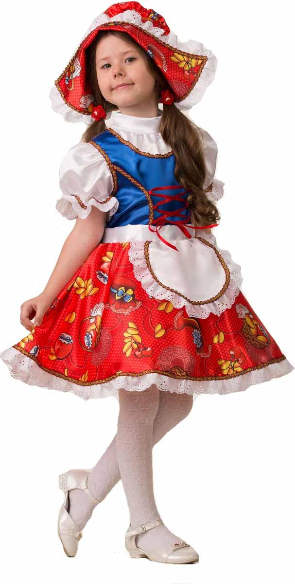 Дженис Карнавальный костюм для девочки Красная шапочка размер 26 куртка для девочек icepeak 450055512iv цвет розовый р 176 100%полиэстер 637