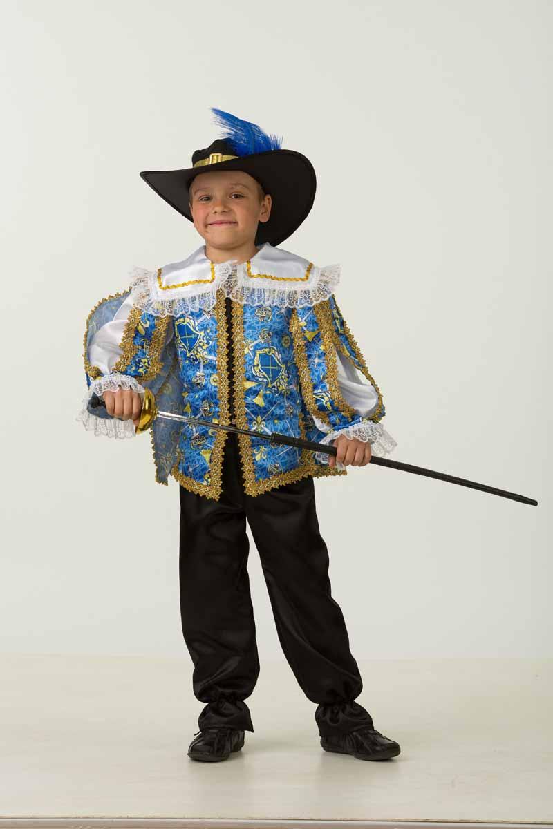Дженис Карнавальный костюм для мальчика Мушкетер размер 34 костюм озорного клоуна детский 32 34