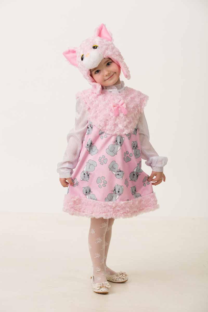 Дженис Карнавальный костюм для девочки Кошечка Муся размер 26 детский костюм доброй собачки 26 32
