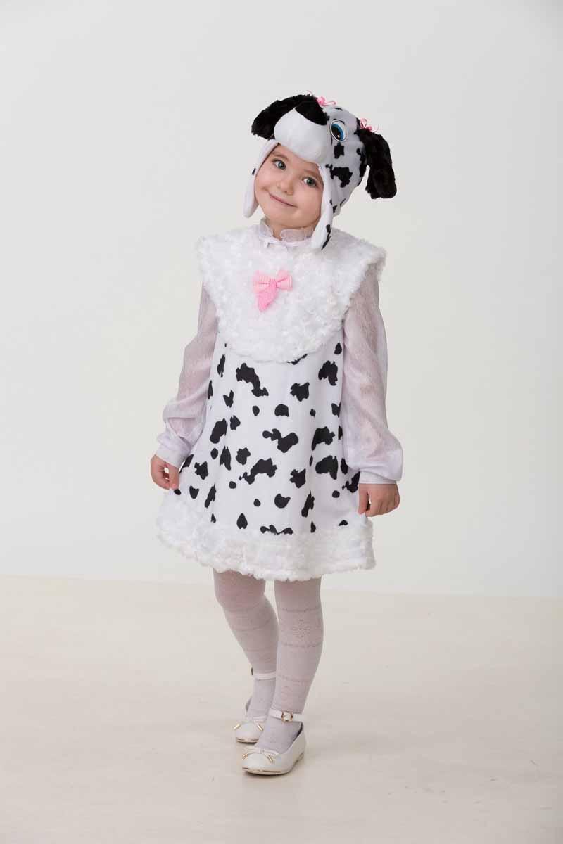 Дженис Карнавальный костюм для девочки Далматиночка Джеси размер 28 детский костюм дарт мола 28 30