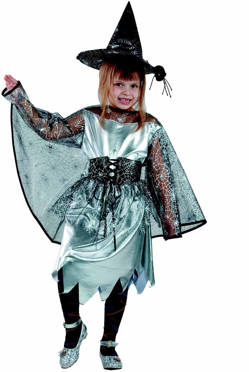 Батик Карнавальный костюм для девочки Ведьмочка размер 34 батик карнавальный костюм капитан флинт