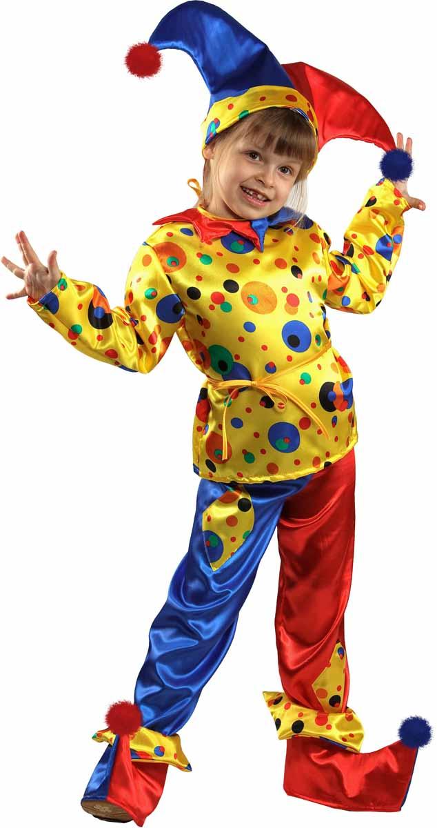 Батик Костюм карнавальный для мальчика Петрушка размер 32 stylish pink cartoon lion and handgun pattern 9 5cm width tie for men