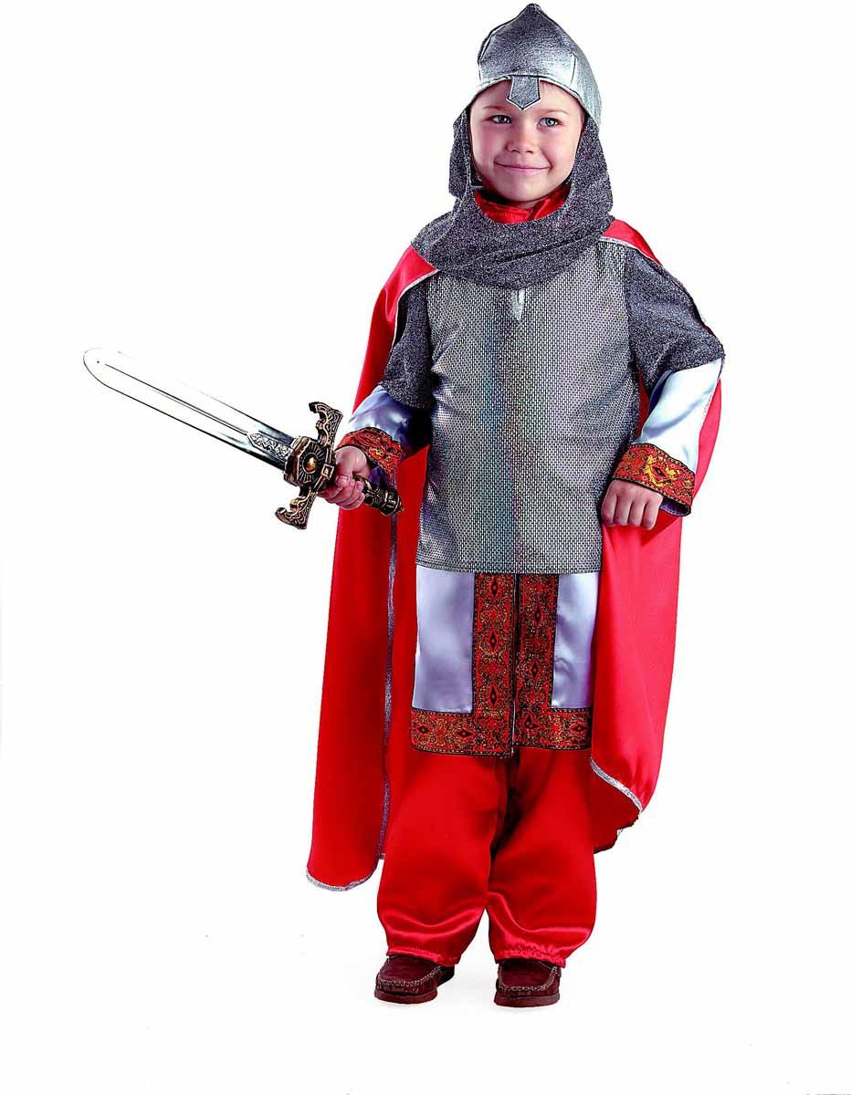 Батик Карнавальный костюм для мальчика Богатырь размер 34 костюма снеговика для мальчика на авито