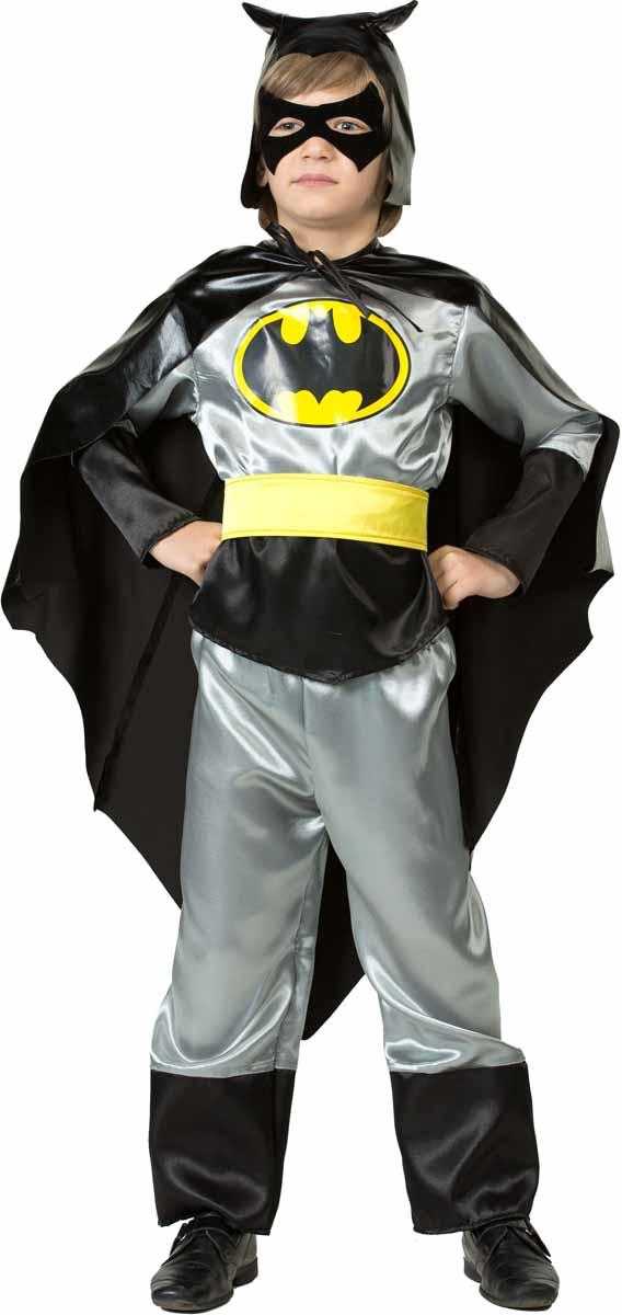 Батик Костюм карнавальный Черный Плащ размер 30 батик костюм карнавальный для мальчика гладиатор размер 30