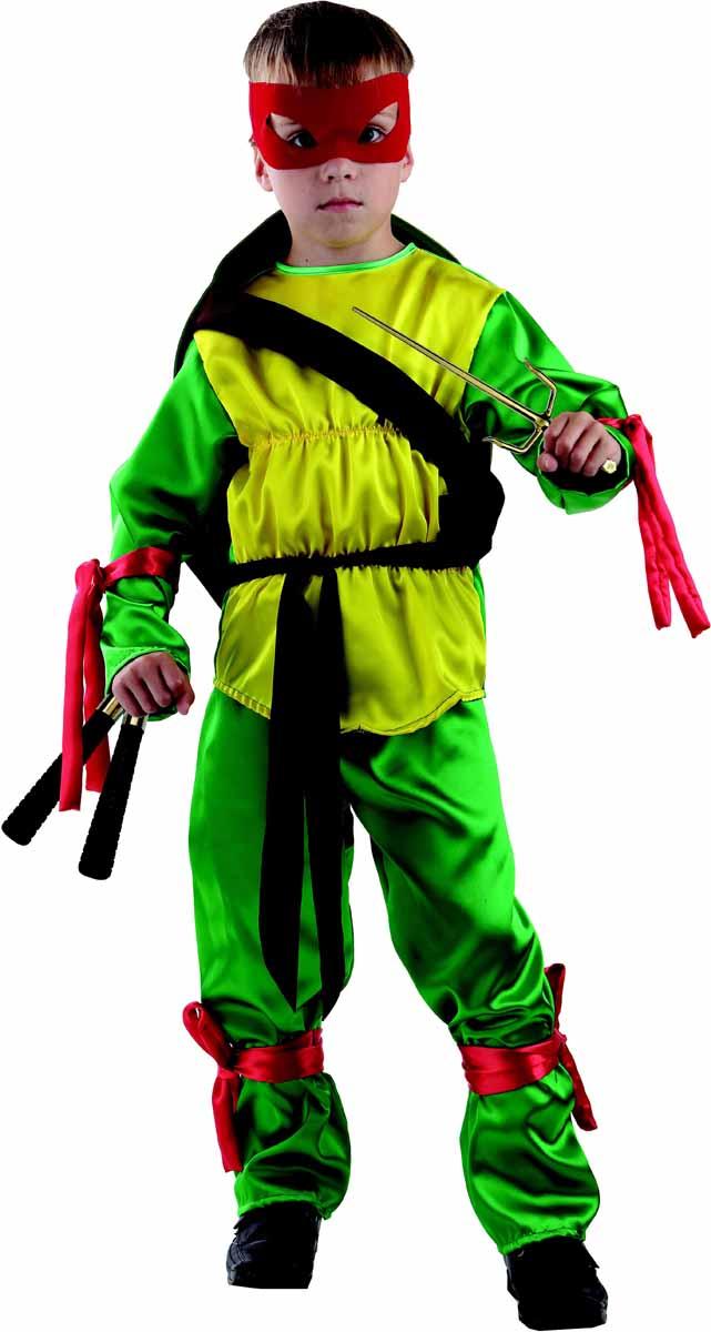 Батик Костюм карнавальный Черепашка Ниндзя размер 28 батик карнавальный костюм капитан флинт