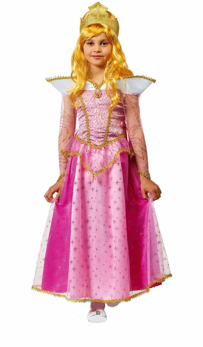 Батик Костюм карнавальный Принцесса Аврора размер 28