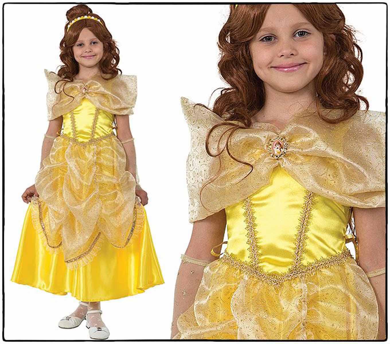 Батик Костюм карнавальный Принцесса Белль размер 28
